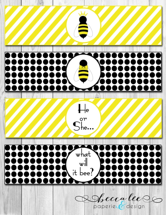 Instant Download He Or She What Will It Bee Baby Shower