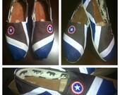 Captain America Custom Toms