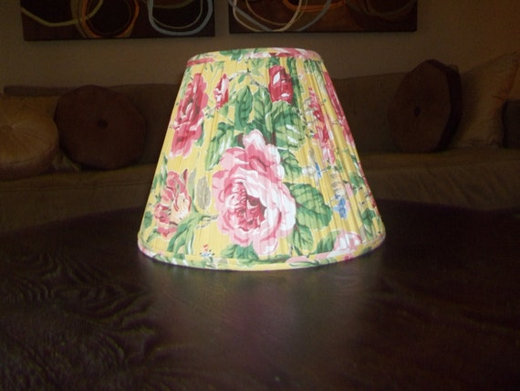 Vintage Laura Ashley Floral Lamp Shade