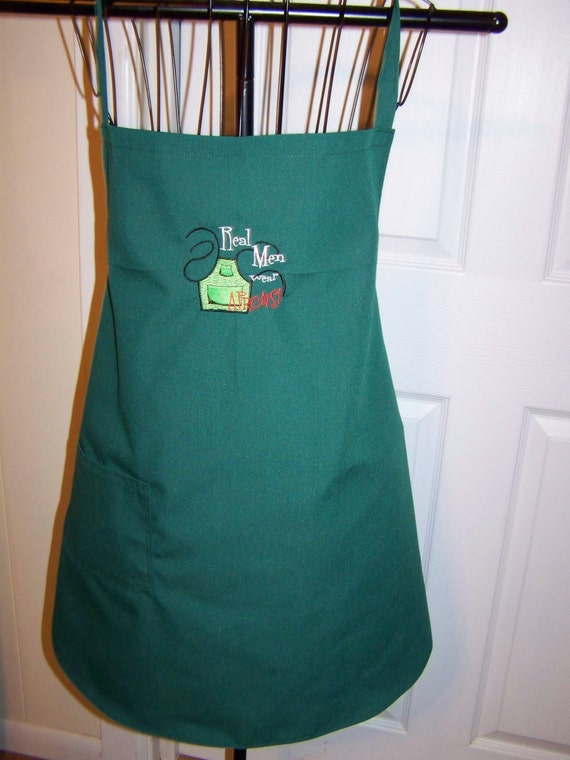 Real Fathers Real Men Real Men Wear Aprons Bbq Apron