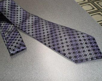 Vintage Diamond Geometric Necktie by Croft&Barrow
