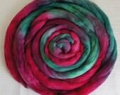 Merino Wool Roving - Hand Painted Felting or Spinning Fiber