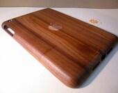 Ipad Mini case - wooden cases walnut or bamboo wood - apple