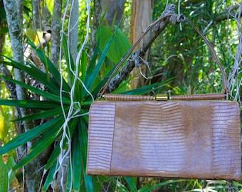 vintage purse faux gator handbag vintage gator purse vintage clutch faux snake purse vintage handbag