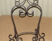 Decorative Iron PICTURE FRAME HOLDER Tabletop Easel Painting Artwork