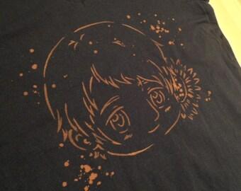 Hetalia Russia Bleach  T-Shirt Top - Custom Colour