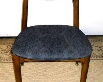Mid Century Chair, Vintage Modern Chair, Vintage Danish Lounge Chair, Mid Century Modern Chair  -SALE 25%