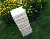 """Tumbling Timbers """"Larger"""" Set Handmade from new solid wood FINISHED in your choice of color"""