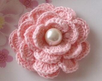 Crochet Flower in 2-1/2 inches YH-141-01