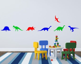 Assorted Dinosaur Wall Decals