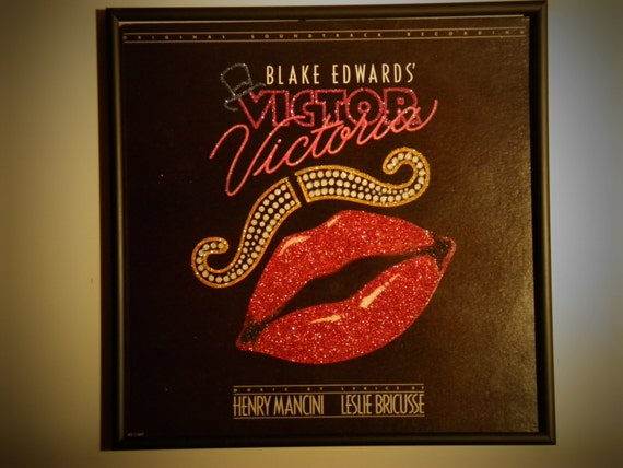 Glittered Record Album - Blake Edwards' Victor Victoria Soundtrack