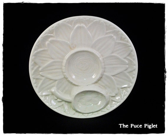 Vintage Portuguese Artichoke Plate Perfect for Display