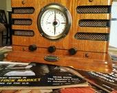 Mock Crosley Radio and Tape Deck