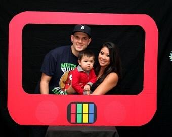Yo Gabba Gabba Super Music Friends Show Cardboard Photography Photo Booth Prop