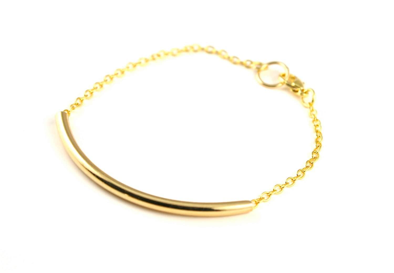simple gold bracelet gold chain bracelet stacking