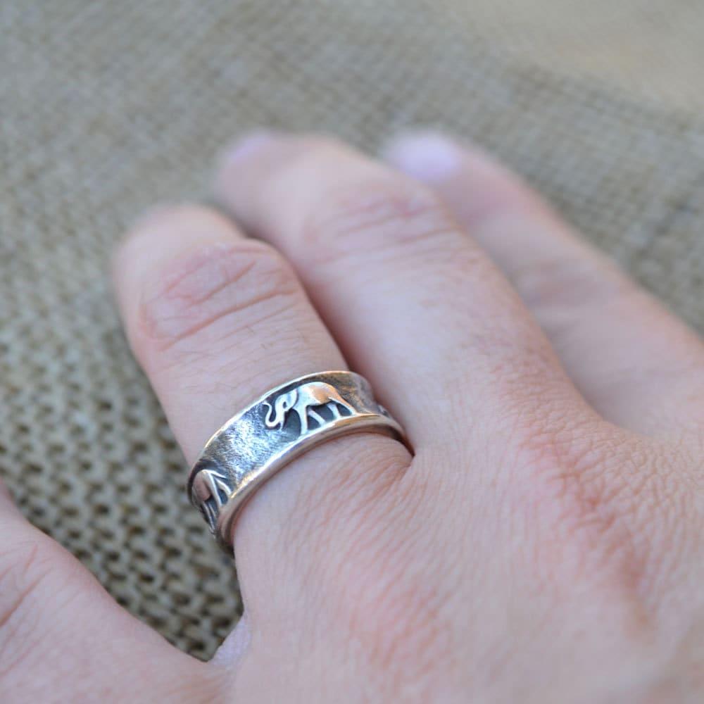 James Avery Elephant Ring