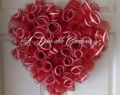 "P.S. ""I Love You"" Deco Mesh Wreath - ADoorableCreations05"