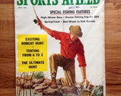 Vintage Sports Afield April 1961 Fishing Hunting