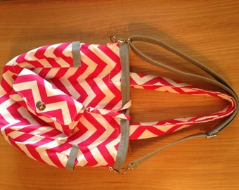 Tote Bag, Unstructured Purse / Tote Bag, 31 style bag, Retro Tote, Made to Order