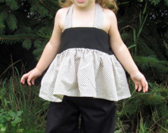 Instant Download Patricia Ruffle Pants Pattern Girls size12M-6 PDF Sewing Pattern  Tutorial E Book