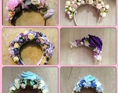 Lana Del Rey Flower Crown made in any colour or style