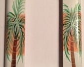 Palm Tree Single Rocker Switch plate Cover