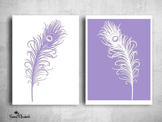 Purple Peacock Feather Clip Art Purple Peacock Art Peacock