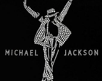 """Michael Jackson """"This Is It!"""" Rhinestone T-Shirt (2XL / 3XL)"""