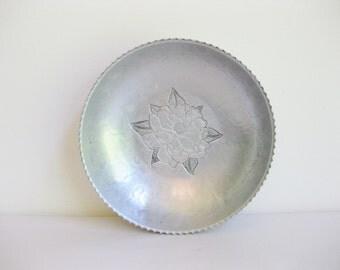 Aluminum Bowl, Hammered Aluminum Bowl, Farberware