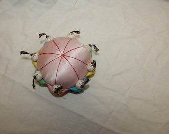 Vintage Asian dolls pincushion