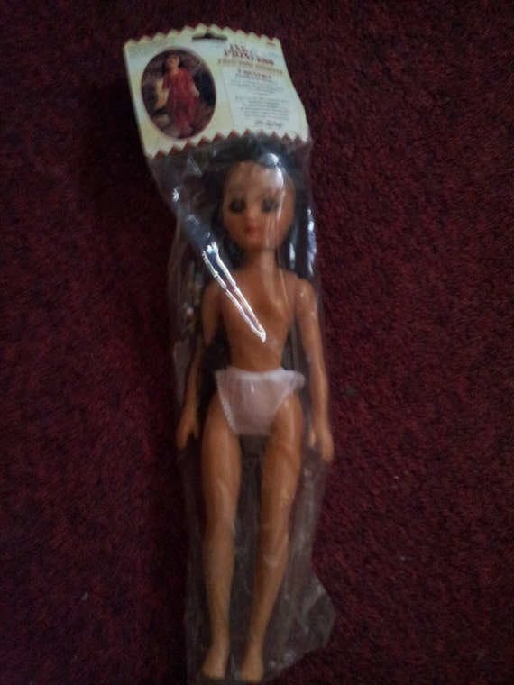 Fibre Craft 15 in Indian Princess Doll - Sealed in Original Package - RARE HTF-k