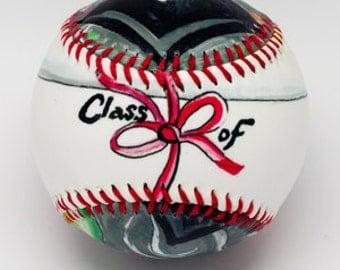 Graduation Baseball, Graduation present, Baseball for Graduate, Graduation Gift (GRAD)