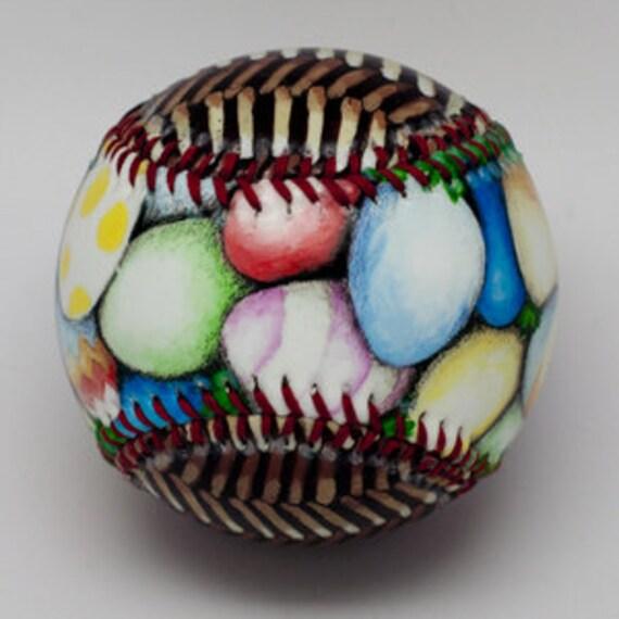 Easter basket baseball easter gift baseball gift for easter like this item negle Gallery