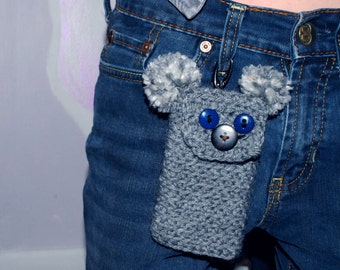 Koala Crocheted Phone Case