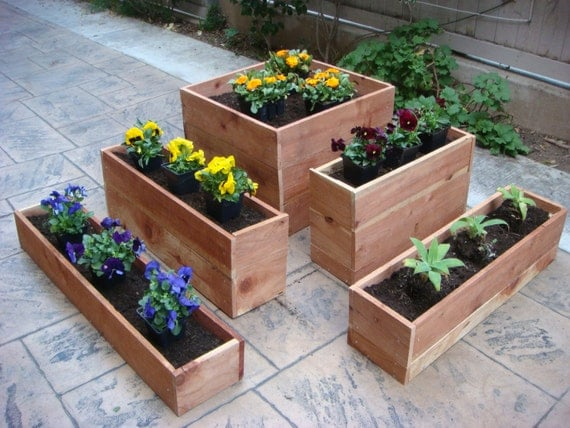 Flower Planter Vegetable Planter 23 Inch X 23 By