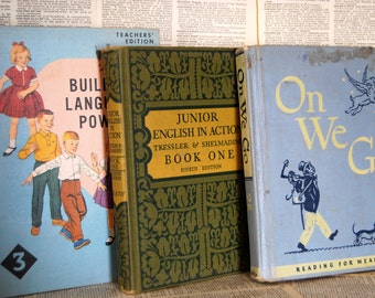 Vintage Children's Book Collection, Three learning editions