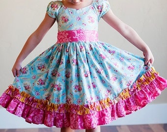 Girls Dress Patterns Free Simple