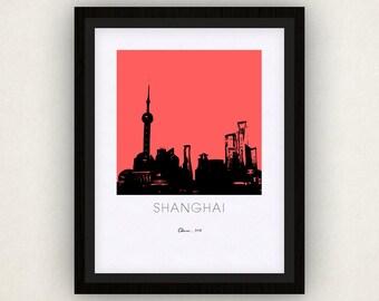 Shanghai Art Poster