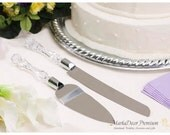 READY TO SHIP Wedding Bridal Cake Cutting Set