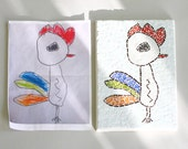 Children's Drawings in a Mosaic Art - Made To Order