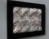 Knitted Paper Wall Art