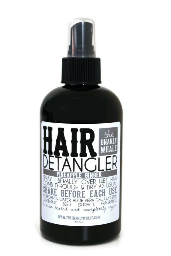 Pineapple Ginger Hair Detangler - Vegan 8 oz