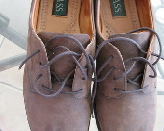 Webster Bass casual or dress  leather oxford shoes 12W