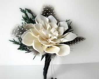 Sola Flower Boutonnieres, Wedding Boutonnieres, Prom Boutonnieres
