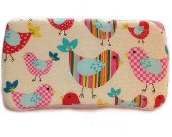 Custom Boutique Style Travel Wipe Case - Birdies
