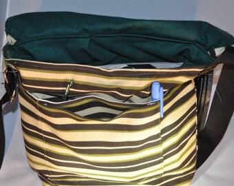 2- Pocket Messenger Bag