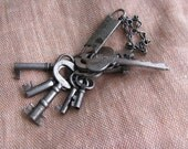 Keychain With 10 Keys Some Skeleton