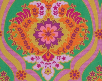 Fabric Crazy Love 'Pricilla' in Green by Jennifer Paganelli 16 inches