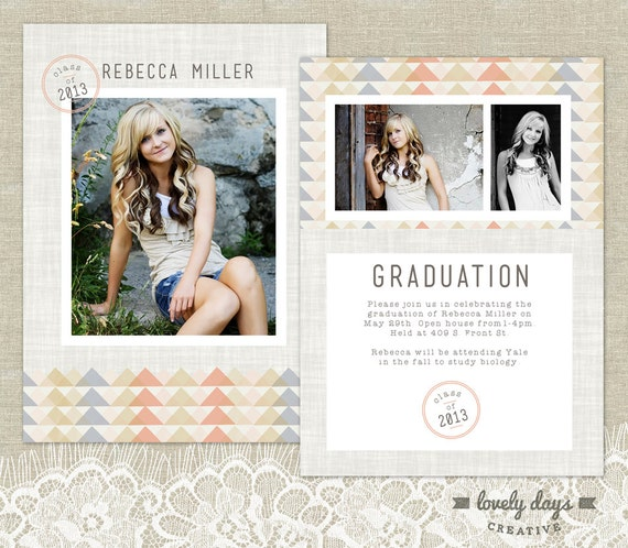 Items similar to senior graduation announcement template for Senior announcement templates free