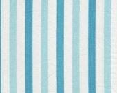 ONE Sweet Vintage Sheet Fat Quarter, Vintage Fabric, Reclaimed Fabric, Fabric Stash, Sewing Supplies, Stripe7